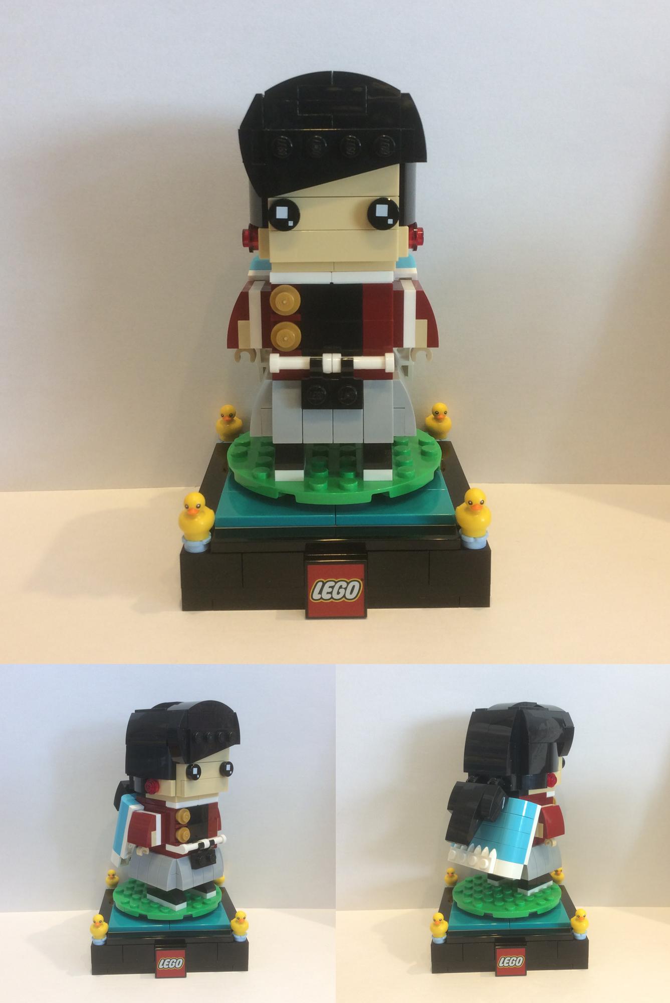 レゴで刀剣乱舞やゴールデンカムイを作った!ブリックヘッズ風オリジナル作品ビルドに挑戦しよう!