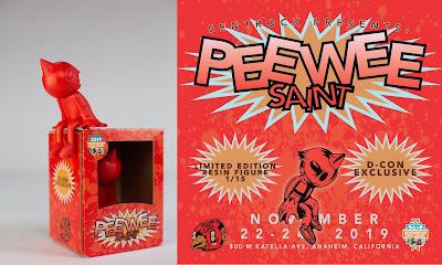 Designer Con 2019 Exclusive PeeWee Saint Resin Figure by Sentrock
