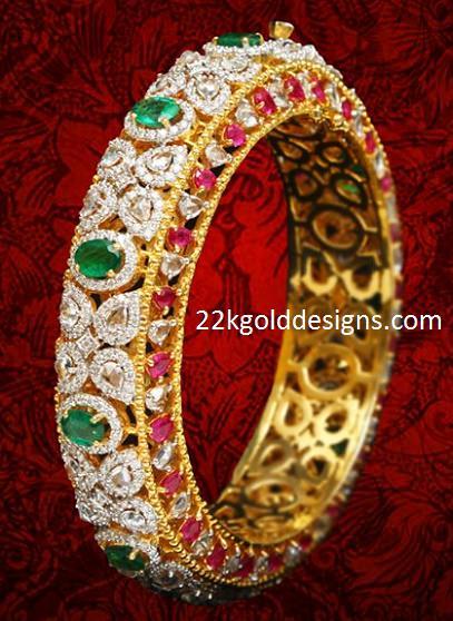 VBJ Diamond Bangle