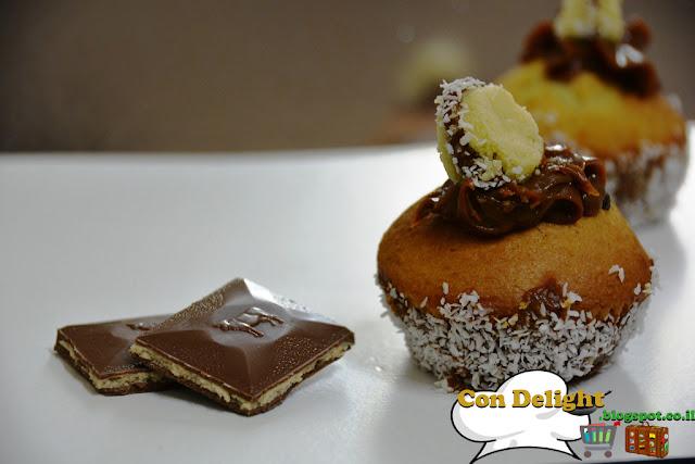 קאפקייקס אלפחורס Alfajores cupcakes