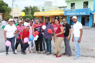 Grupo Guerrero  de Dios en Cabral realiza  marcha contra el cáncer