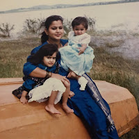 Kriti Kharbanda Childhood Photo With Her Mother