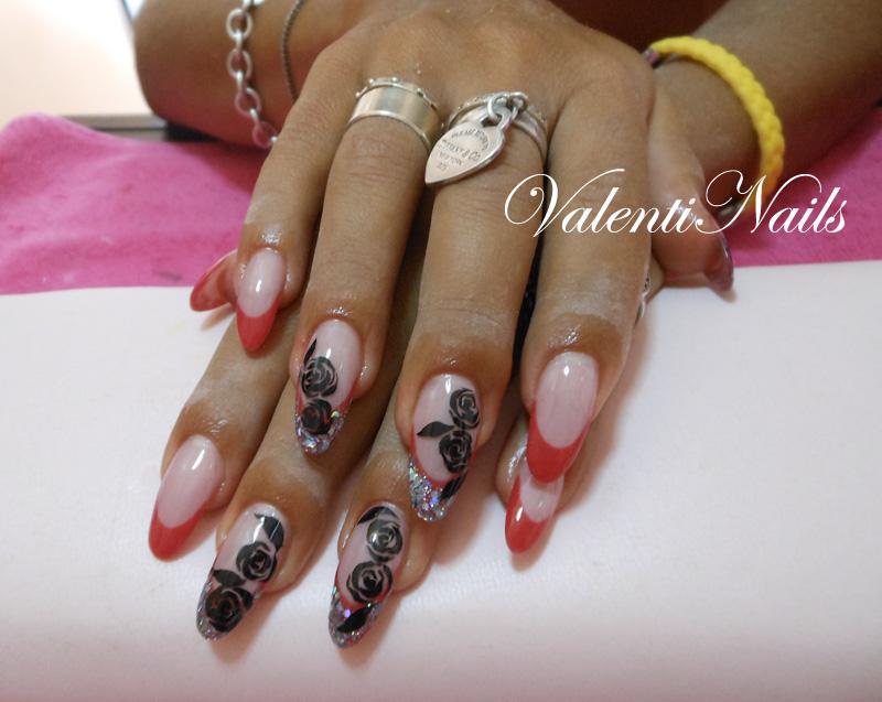 Valentinailcafe Ricostruzioni Unghie Colate Di Gel Nail Art