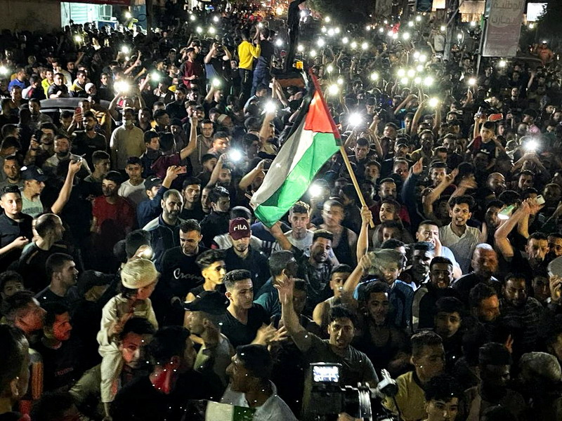 Tagar #PalestinaMenang Menggema di Twitter, Diiringi Takbir & Sujud Syukur Usai Kesepakatan Gencatan Senjata