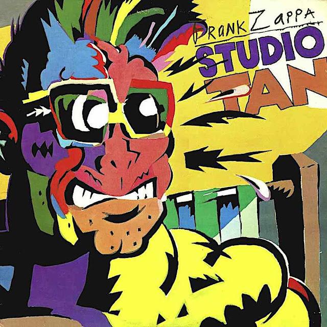 a Gary Panter illustration for Frank Zappa Studio Tan