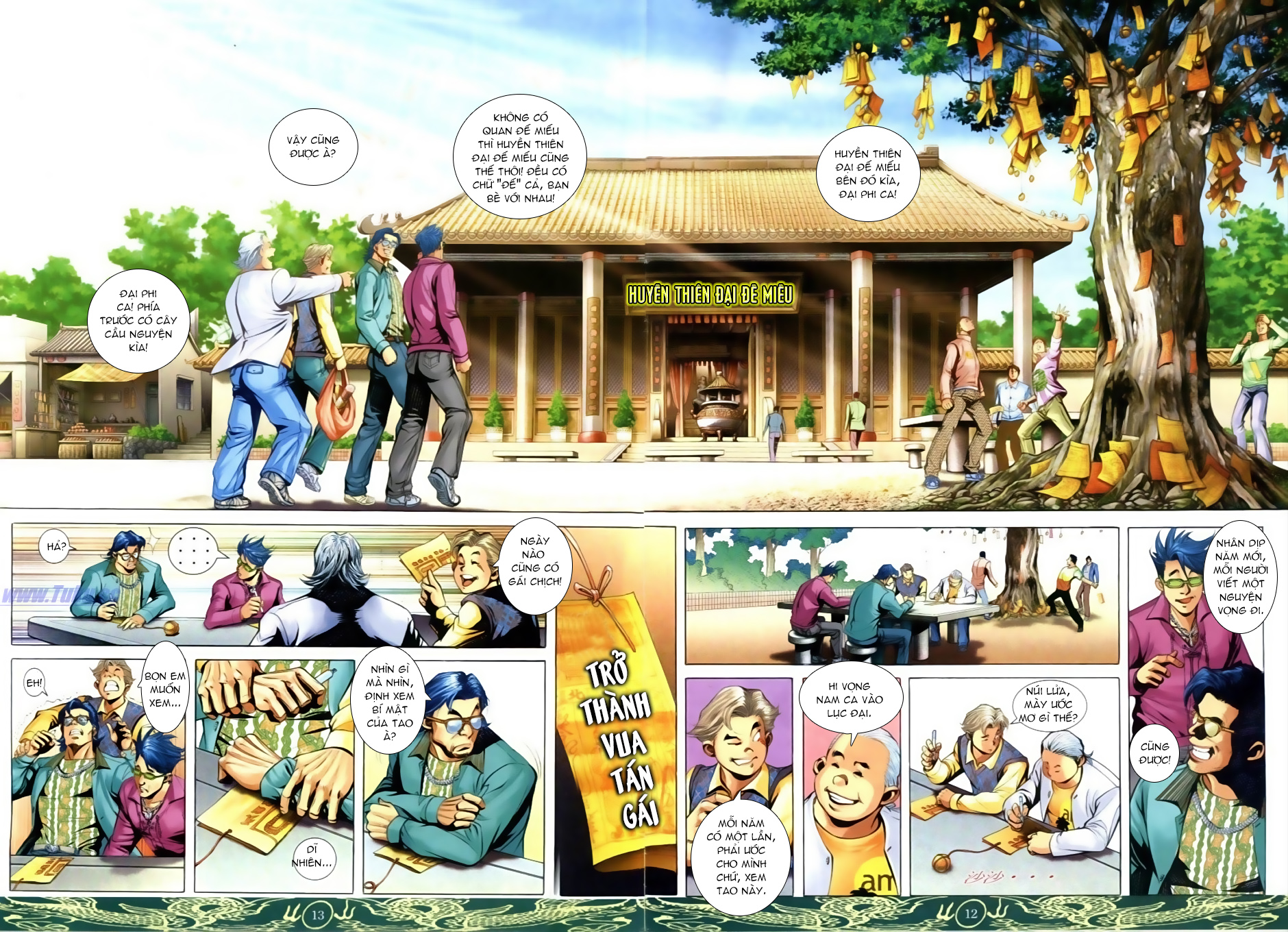 Người Trong Giang Hồ Chap 633 - Truyen.Chap.VN
