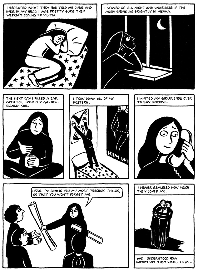 Read Chapter 19 - The Dowry, page 147, from Marjane Satrapi's Persepolis 1 - The Story of a Childhood