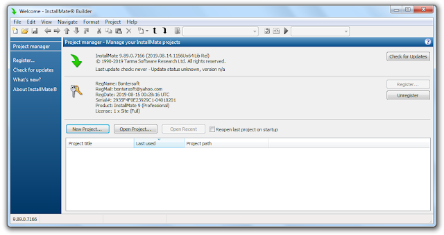 Screenshot Tarma InstallMate 9.89.0.7166 Full Version