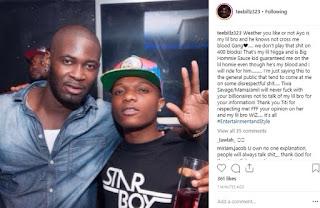 Tiwa Savage can't date Wizkid, he's my little brother - Tiwa's ex-husband, Teebillz says