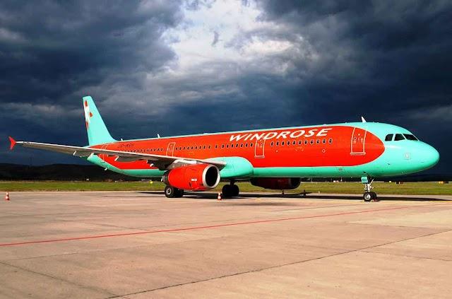 Windrose flights between Macedonia and Ukraine from December