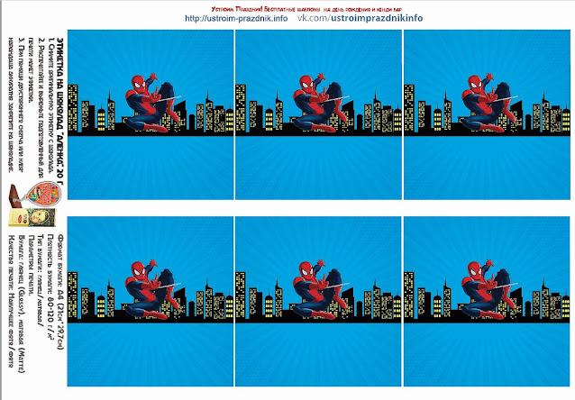 Kit para Fiesta de Spiderman para Imprimir Gratis.