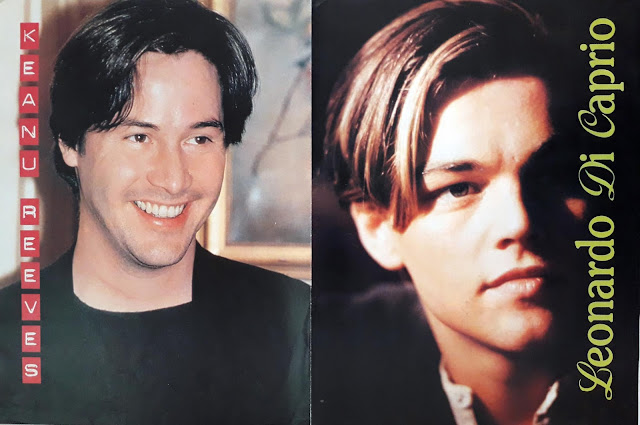 KEANU REEVES AND LEONARDO DI CAPRIO