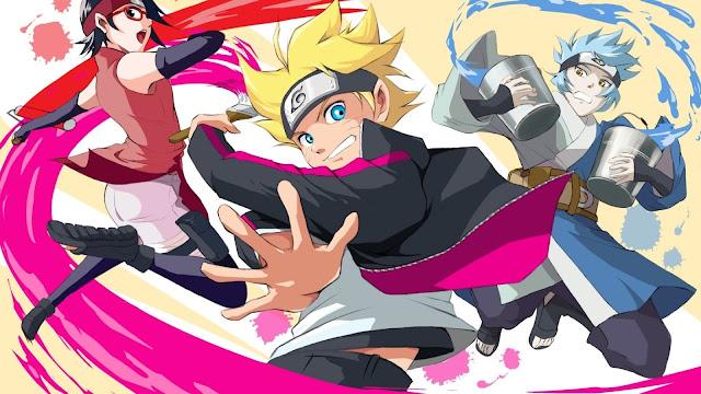 Anime Naruto, Imagem hd, Uzumak, Boruto, Uchiha Sarada, Mitsuki, Naruto.