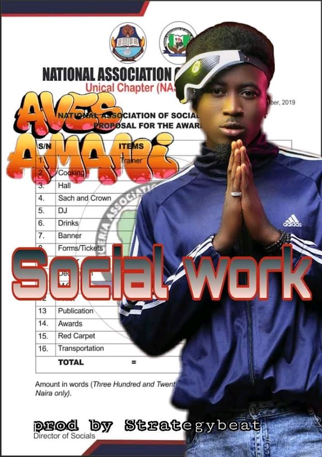 MUSIC: Aves Amani - Social Work (Mixed. Sound of Strategy)