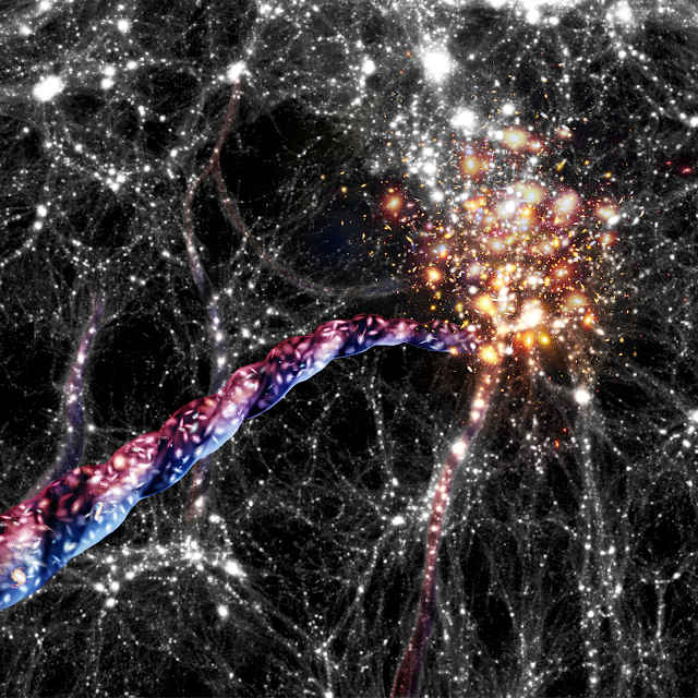 Discovery of the largest rotation in the universe