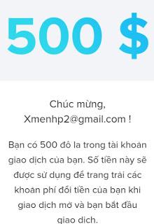nhan 500$ mien phi