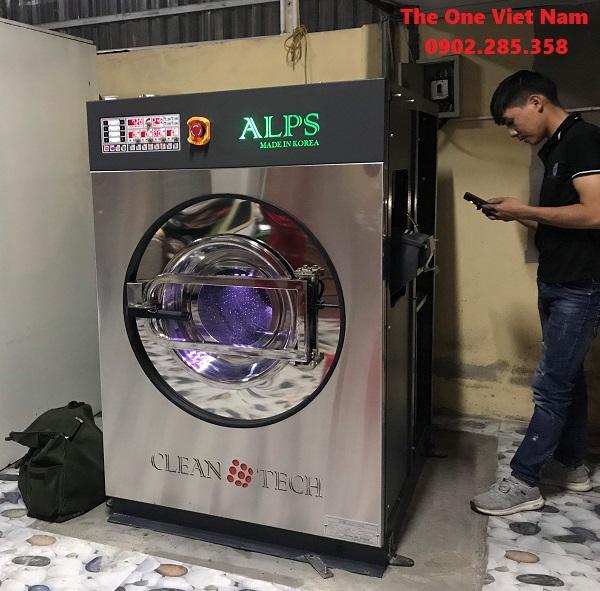 máy giặt công nghiệp cho nhà máy ở Hải Phòng