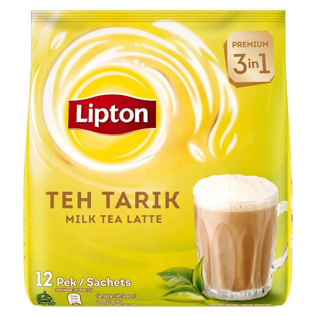 Lipton Teh Tarik 3-in-1 252g (12 sachets)  RM14.25