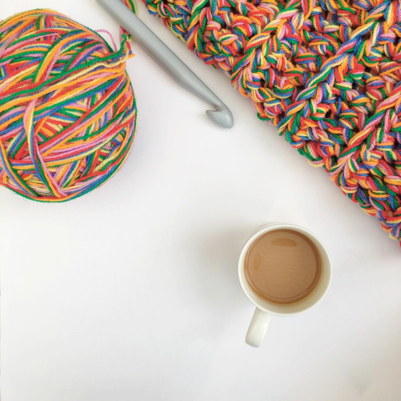 Super Chunky Rainbow Blanket - Free Tutorial   Lottie & Albert