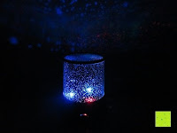 Licht blau rot: LED Sternenhimmel Star Master Nachtlicht Lampe Mobiler Sternen-Projektor Himmel