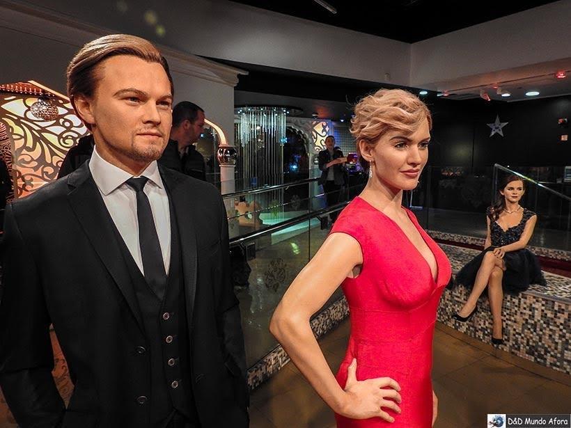 Leonardo Di Caprio e Kate Winslet - Madame Tussauds: Como visitar o museu de cera de Londres
