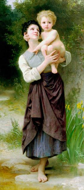 Адольф Вильям Бугро - Брат и сестра (1887)