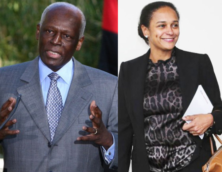 angolan president daughter head oil ministry