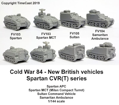 New Spartan series models