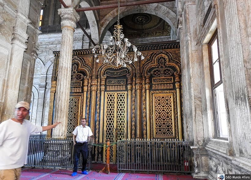 Mausoléu do Mohamed Ali na Mesquita de Mohamed Ali - O que fazer no Cairo, Egito