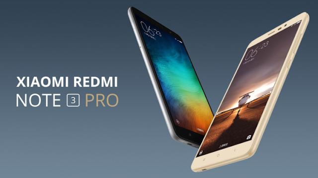 Xiaomi redmi 3 Pro spesifikasi