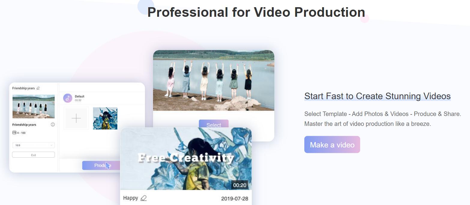 كيف تصنع فيديوهات احترافية اونلاين باستخدام LightMV