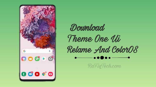 تحميل  وثتبيث سمات One UI لأجهزة Realme UI و ColorOS