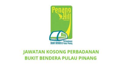 Jawatan Kosong Perbadanan Bukit Bendera Pulau Pinang 2019