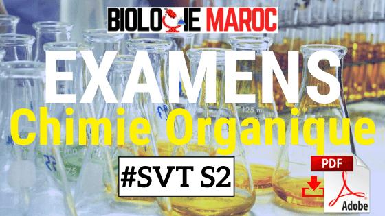 EXAMENS Corrigés de Chimie II Chimie Organique SVTU S2 PDF