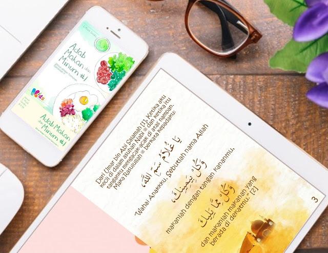 E-Book Gratis | Adab Makan Sesuai Tuntunan Rasulullah ﷺ [A-I-01]