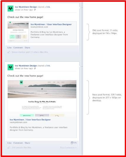 Facebook open graph image size