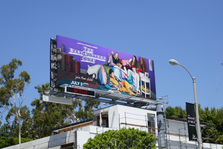 Babysitters Club season 1 billboard
