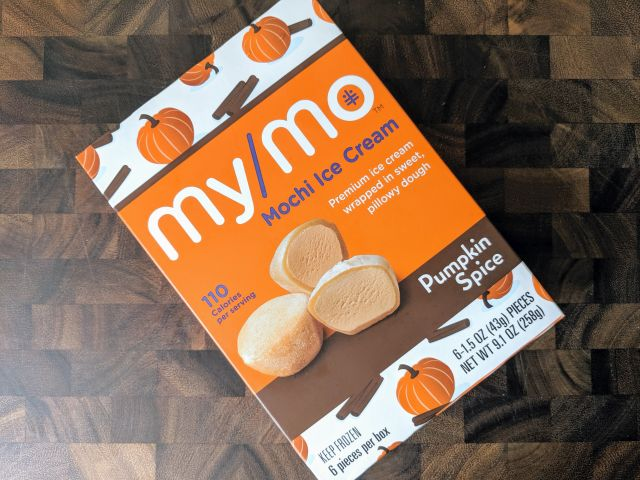 Review: My/Mo - Pumpkin Spice Mochi Ice Cream   Brand Eating