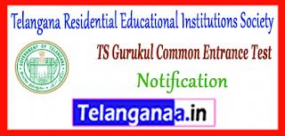 Telangana Gurukul Common Entrance Test 5th Class 2019 Notification Application