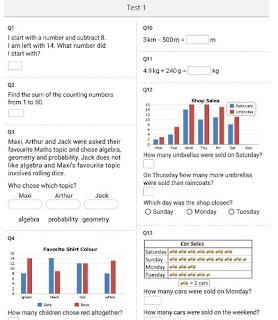 CTCMath question bank test 2