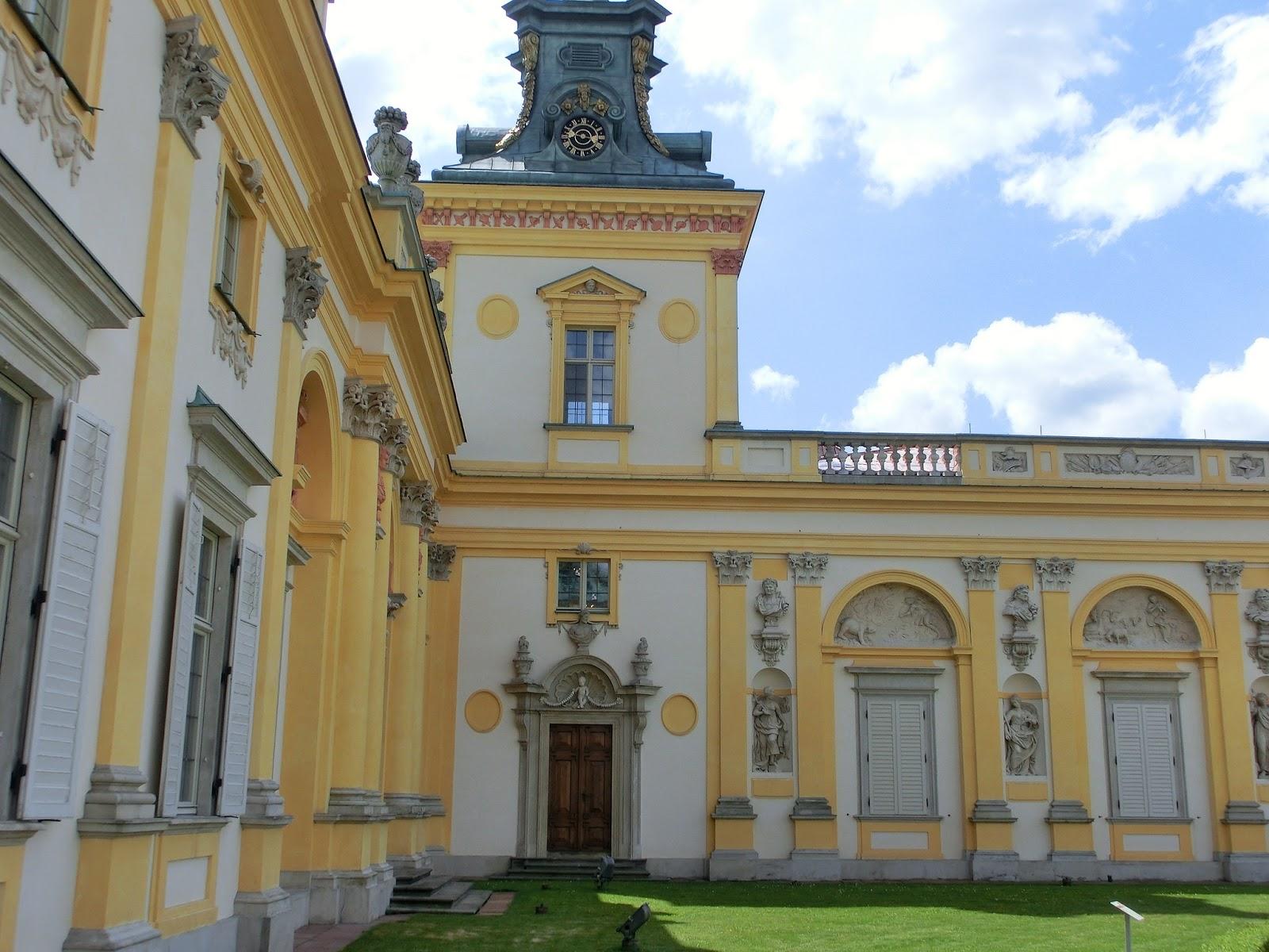 Www Wiersze Wycieczki Wspomnienia Pałac I Park W Wilanowie