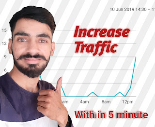 increase traffic in blog