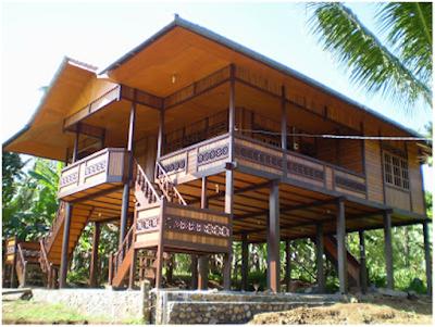 Desain Rumah Adat Sulawesi Utara Rumah Pewaris