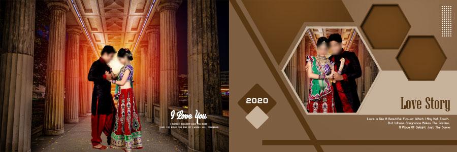 Wedding Album PSD DM Designs