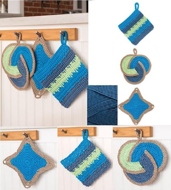 Crochet Pot holders pattern