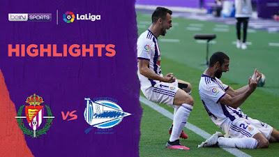 Video Valladolid 1-0 Alaves: Vòng 34, VĐQG Tây Ban Nha