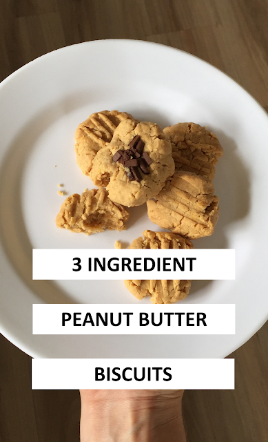 3 ingredient peanut butter biscuits - my other name is mum
