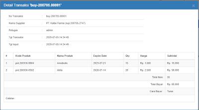 Source Code Aplikasi Penjualan Apotek