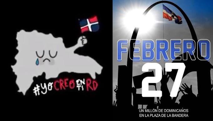 RD busca reunir un millón de personas para el 27 de Febrero