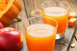 Apple and Pumpkin Juice for Healthy Drinks